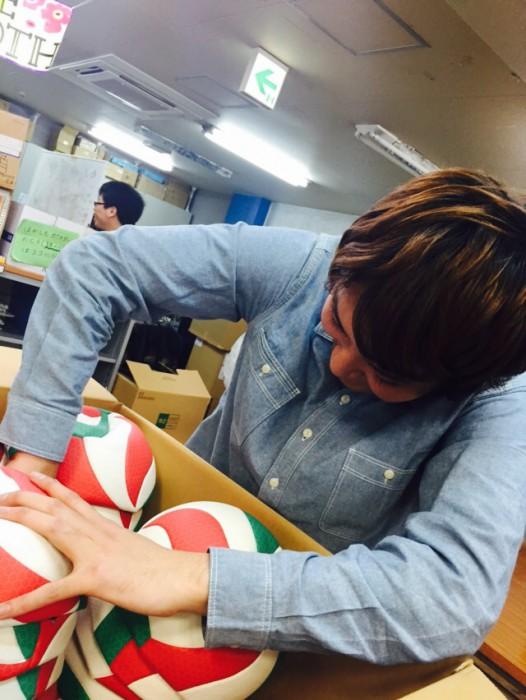 日本バレーボール協会からの支援