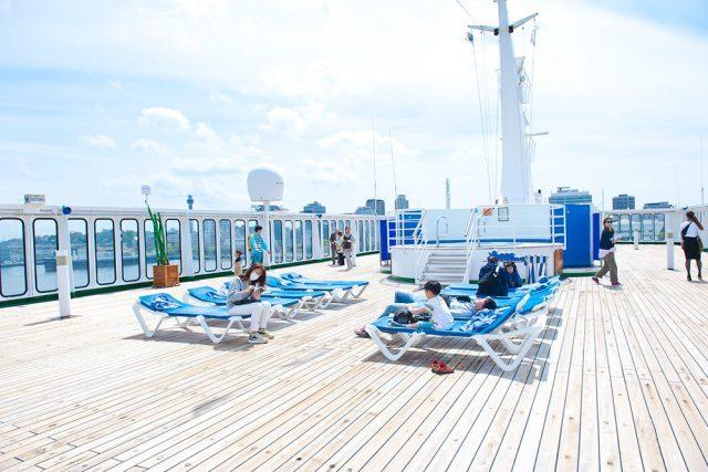 船旅でのんびり