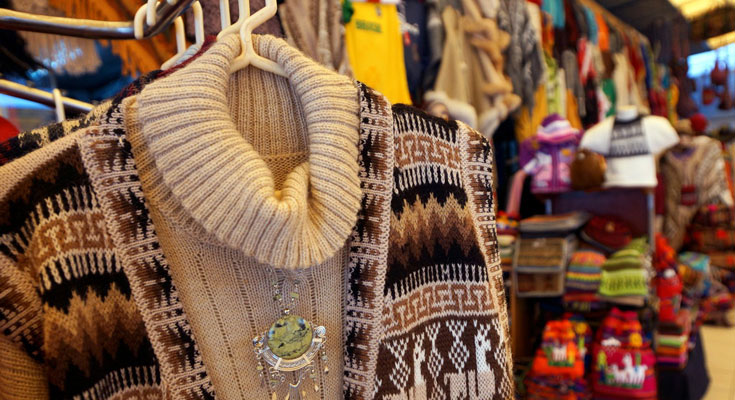 ペルーのお土産屋