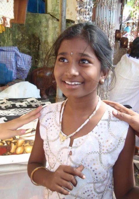 スリランカの子ども