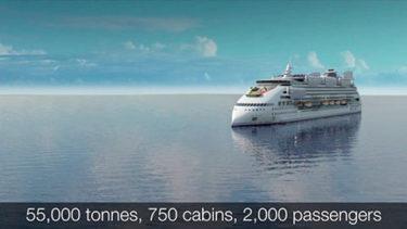 ピースボートの新造船エコシップクルーズ