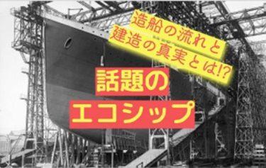 ピースボートエコシップの進捗状況と造船計画と建造費を解析