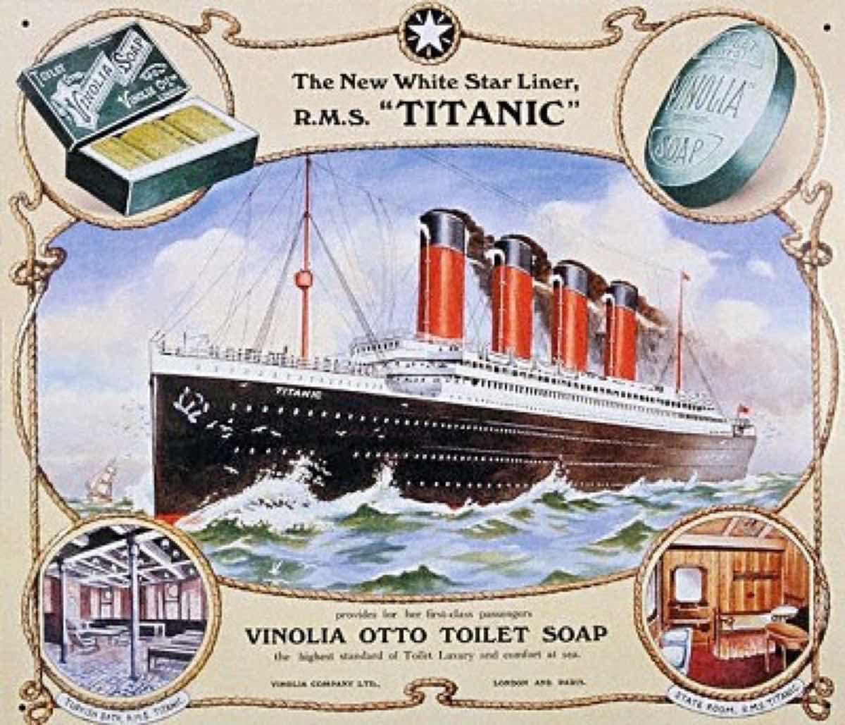 タイタニック沈没とソーラス条約