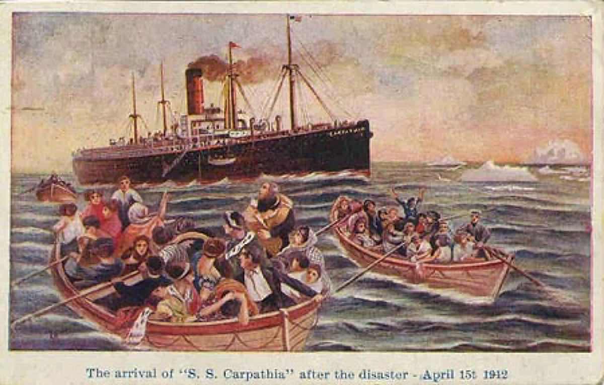 タイタニック避難船とソーラス条約