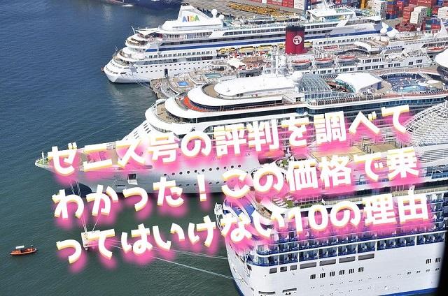プレミアム客船ゼニス号 特記事項【10選】まとめ