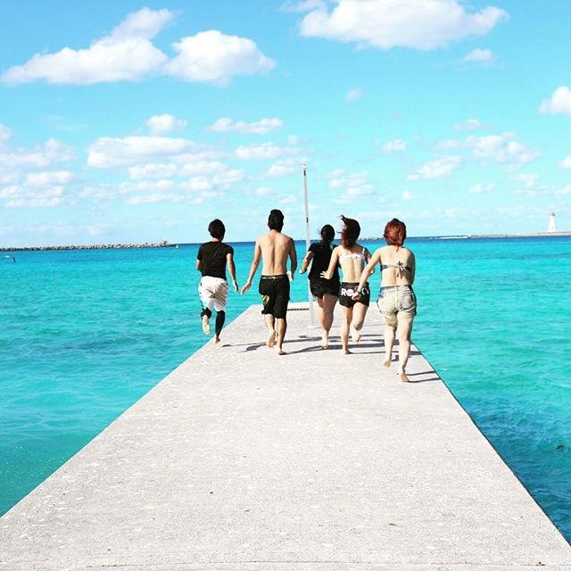英語留学中にビーチへ